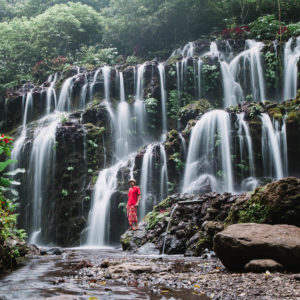 Air Terjun Banyu Wana Amertha Keindahannya Mulai Terkuak ke Dunia