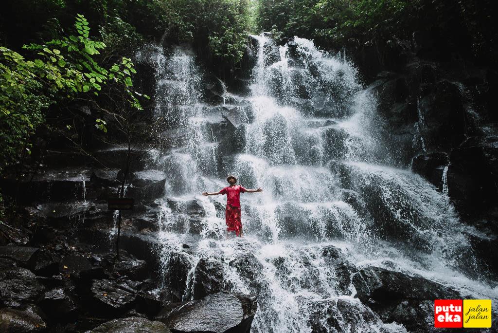 Air Terjun Kanto Lampo dengan keindahannya