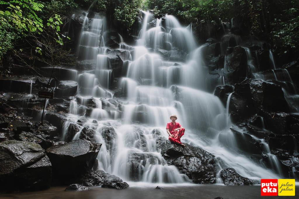 Air Terjun Kanto Lampo yang khas dari Bali