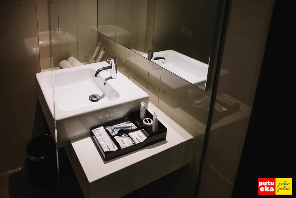 Kamar mandi yang minimalis