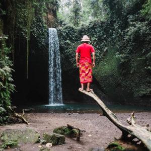 Air Terjun Tibumana dilingkupi Ramah Tamah Masyarakat Bali