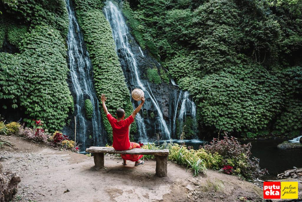 Air terjun Banyumala yang tidak bisa dilupakan