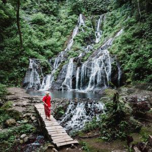 Air Terjun Pucak Manik Gabungan Tiga Keindahan Air Terjun Bali