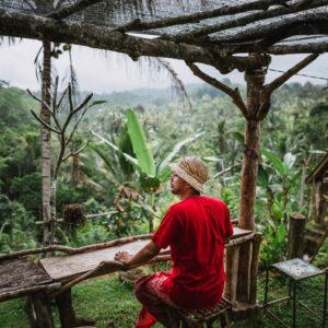 Warung D'Bishe Kehangatan dan Pemandangan Mahal ala Ubud Bali