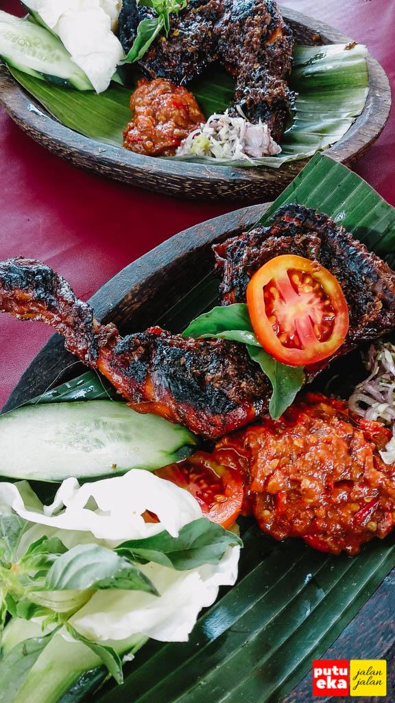Ayam bakar enak Baturiti yang maknyus di warung D'rasain 2